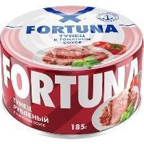 Тунец Fortuna Рубленый в томатном соусе