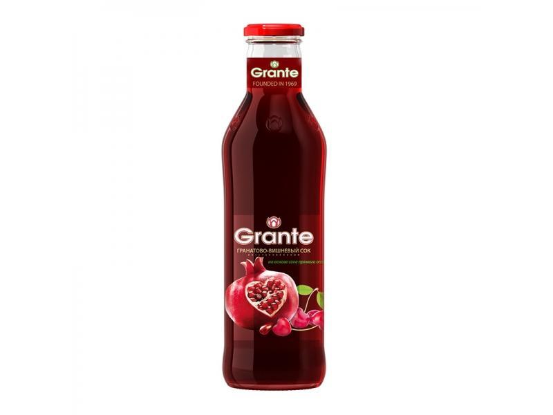 Сок Grante гранатово-вишневый