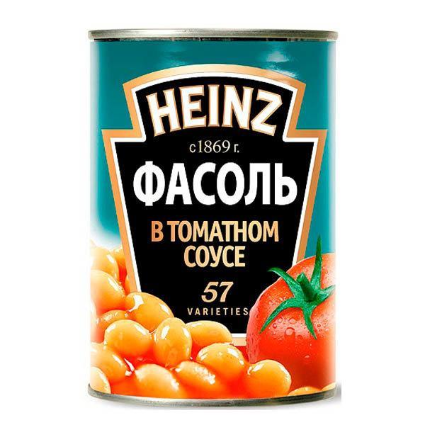 Фасоль Heinz белая в томатном соусе, Соединенное Королевство
