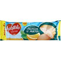 Печенье Любятово Лимон и Мята сдобное  200 гр.