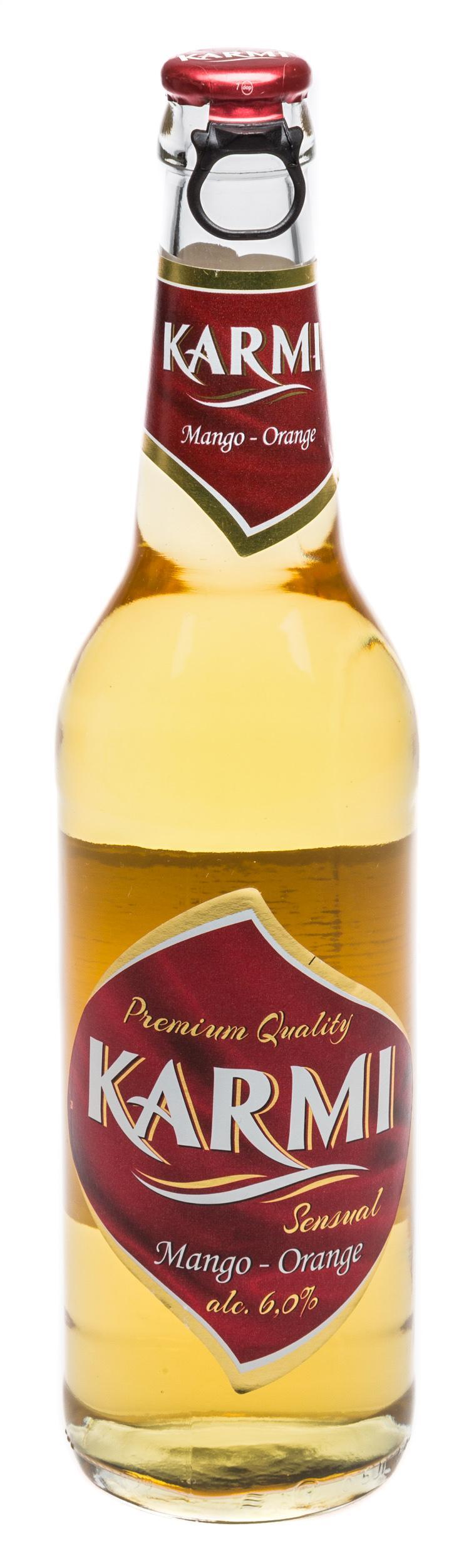 Пиво Karmi Sensual с ароматом манго и апельсина