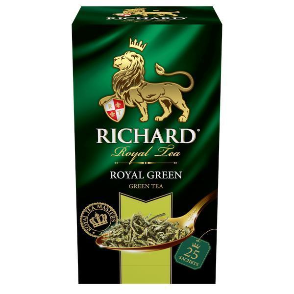 Чай Richard Royal Green зеленый в пакетиках