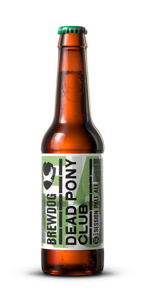 Пиво BrewDog Dead Pony club светлое 0.33 л