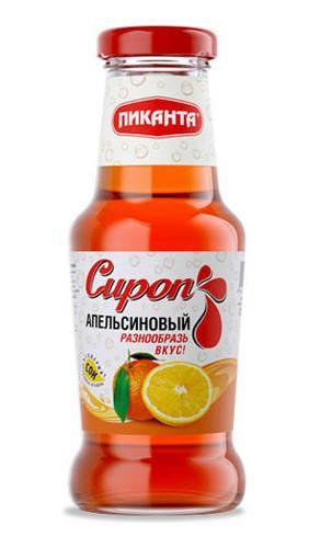 Сироп Пиканта апельсиновый
