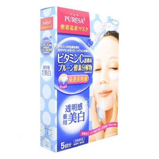 Маска Utena Puresa с витамином С для лица 5шт.