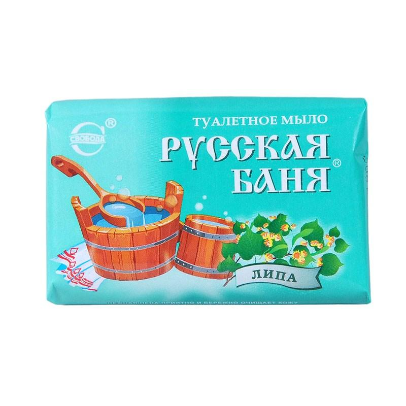 Мыло туалетное Свобода Русская баня Липа
