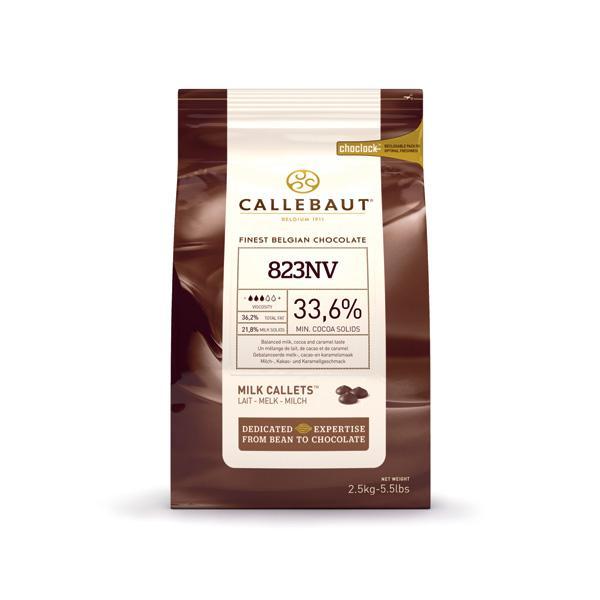 Шоколад Callebaut для фонтанов молочный с медом