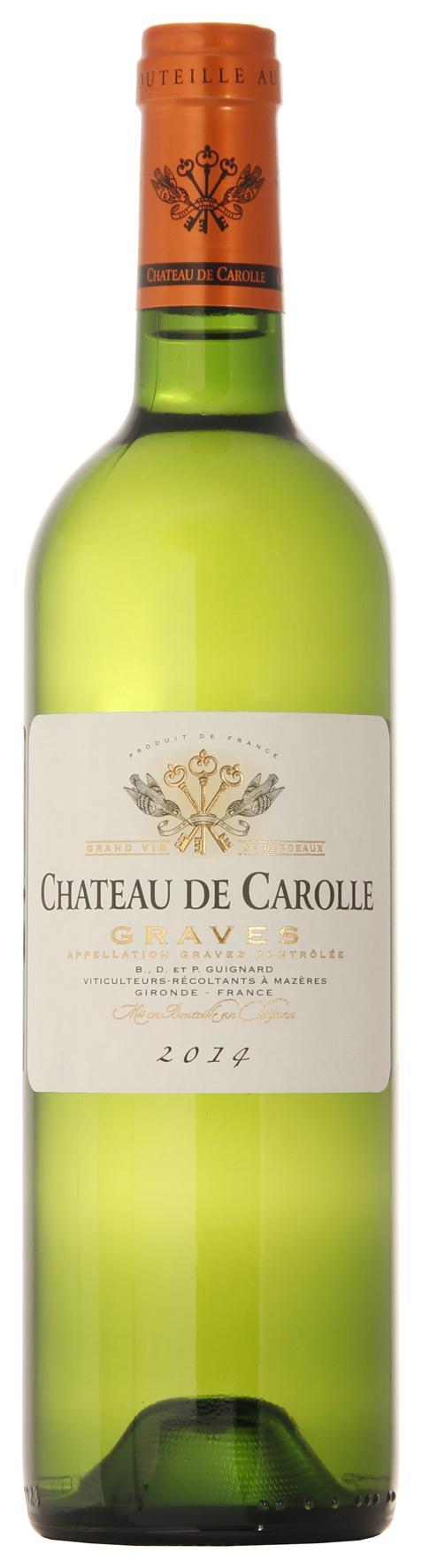 Вино Шато де Кароль Грав, Франция
