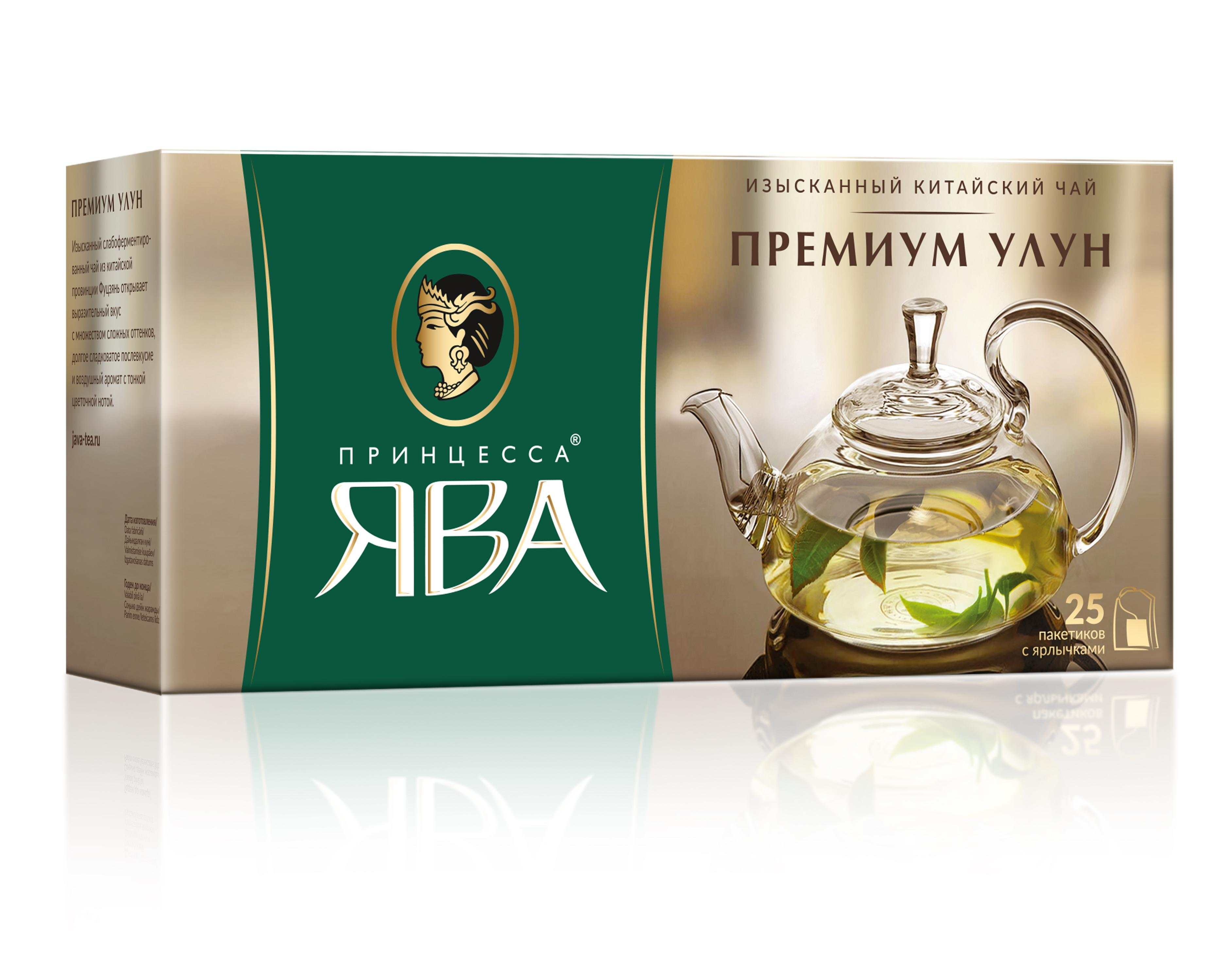 Чай Принцесса ЯВА Премиум Улун оолонг