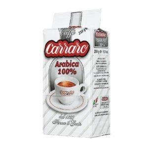 Кофе Carraro Arabica 100% молотый 250 гр.
