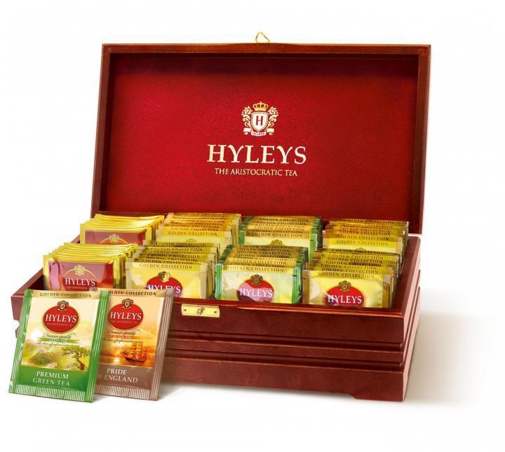 Чай Hyleys Золотая коллекция ассорти 48 пак