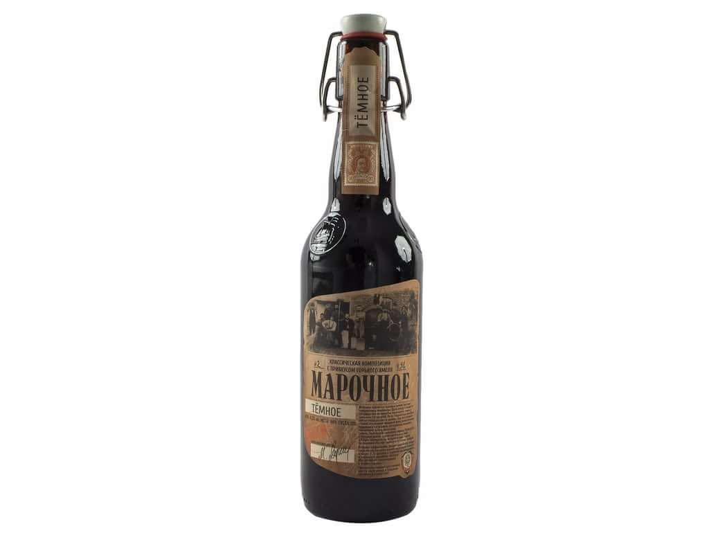 Пиво Афанасий Марочное темное 4,5%