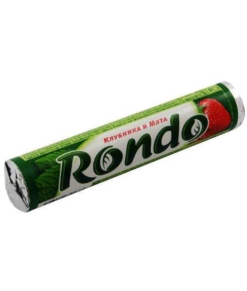 Драже Рондо Клубника и мята, бум./уп. 30 гр. (14 шт. в упаковке)
