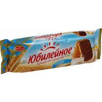Печенье Юбилейное молочное с глазурью 348 гр