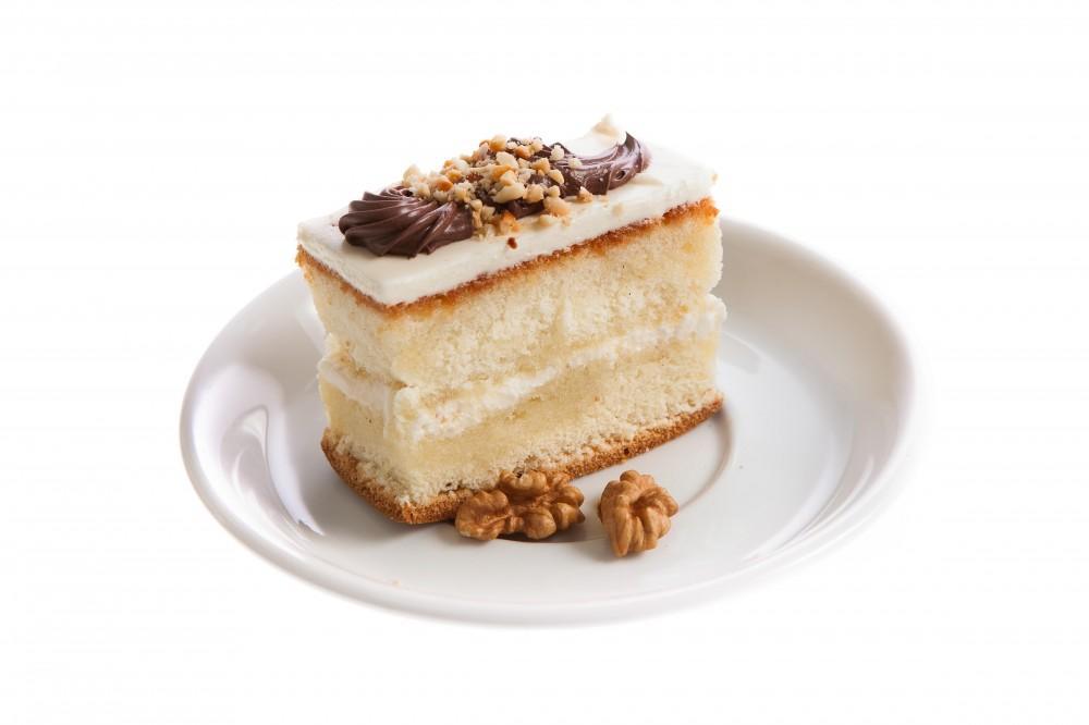 Пирожное Слоянка Медово-арахисовое с нежным кремом