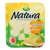 Сыр Arla Natura® Сливочный нарезка
