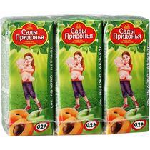 Сок Сады Придонья яблоко-абрикос с 5 месяцев