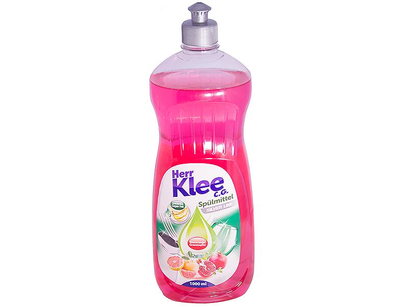 Гель для мытья посуды Herr Klee Silver Line Blutorange Granatapfel