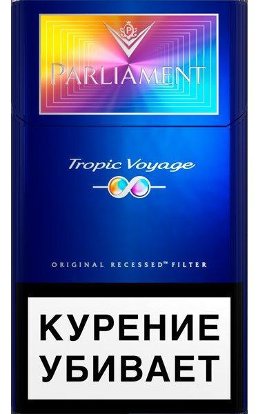 Сигареты Parliament с фильтром Tropic Voyage