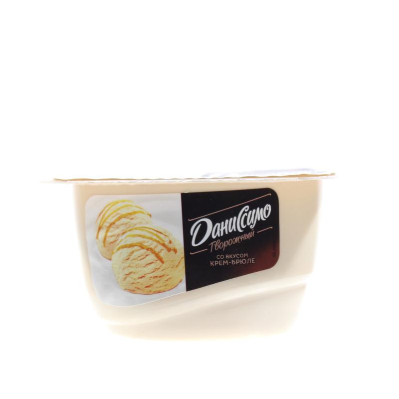 Творог Даниссимо 130г ф-8 мороженое крем-брюле
