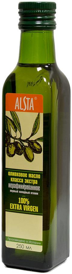 Масло оливковое Alsta Extra Virgin нерафинированное