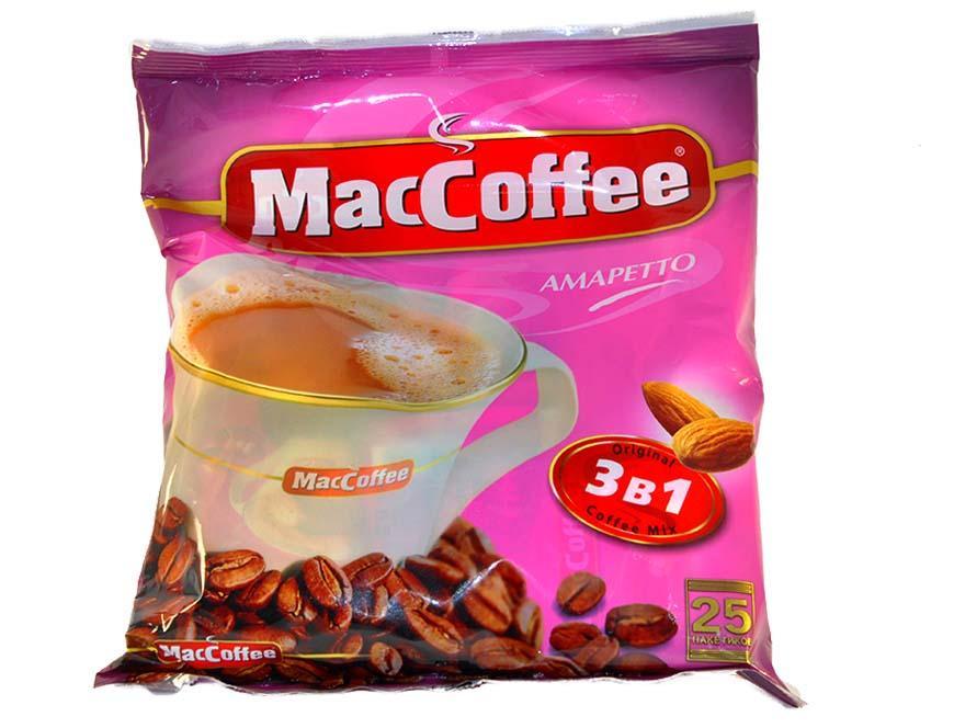 Кофе MacCoffe Амаретто 3в1