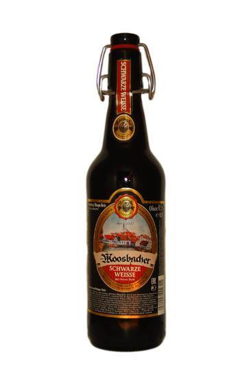Пиво Moosbacher Schwarze Weisse 5%