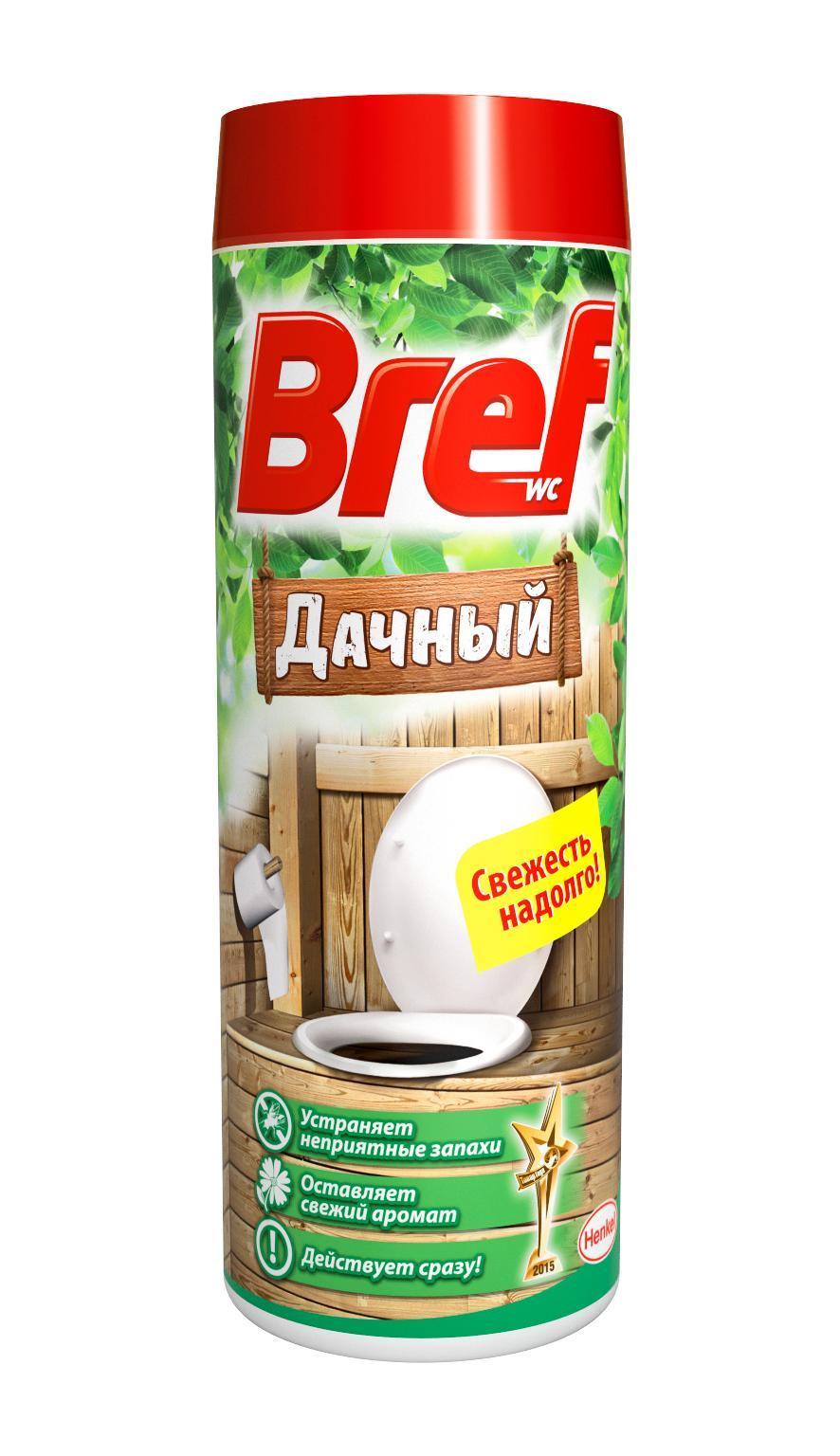 Средство дезодорирующее Bref для дачного туалета