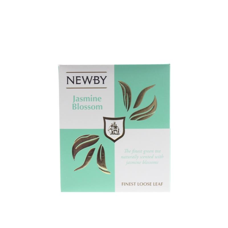 Чай Newby Jasmine Blossom зеленый листовой