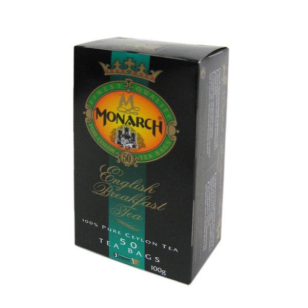 Чай черный Monarch 50 пакетов