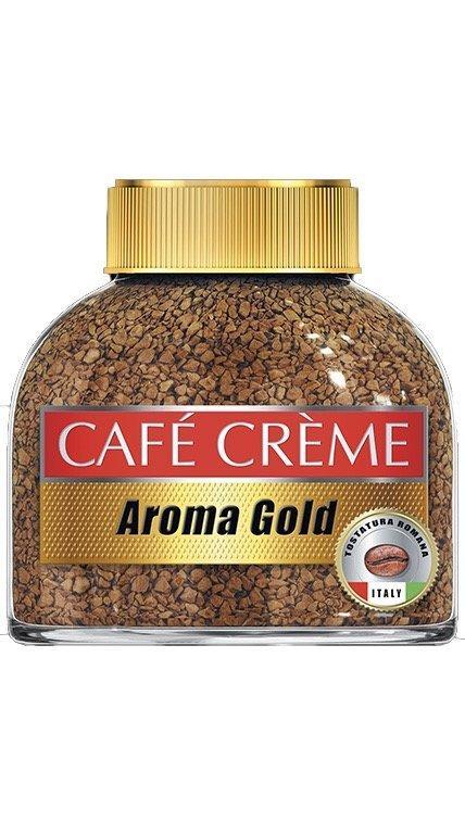 Кофе Cafe Creme Aroma Gold растворимый сублимированный с молотым