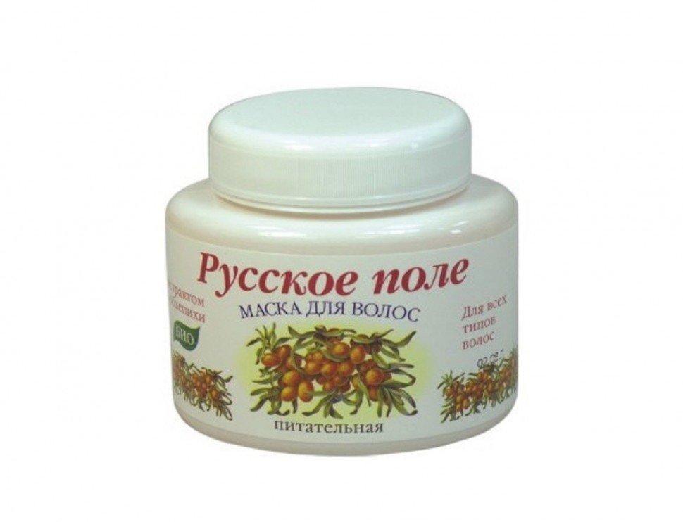 Маска для волос Русское поле Питательная с экстрактом облепихи