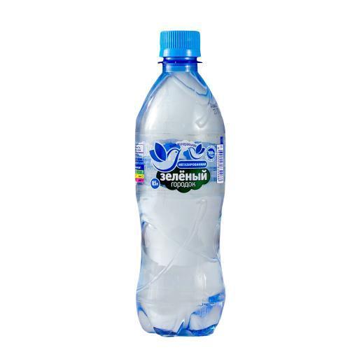 Вода Зеленый городок питьевая минеральная