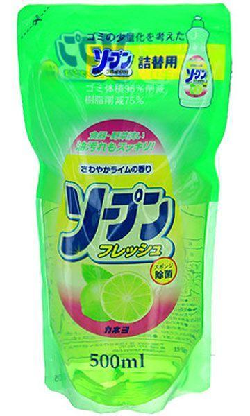 Жидкость для мытья посуды Kaneyo с ароматом свежего лайма