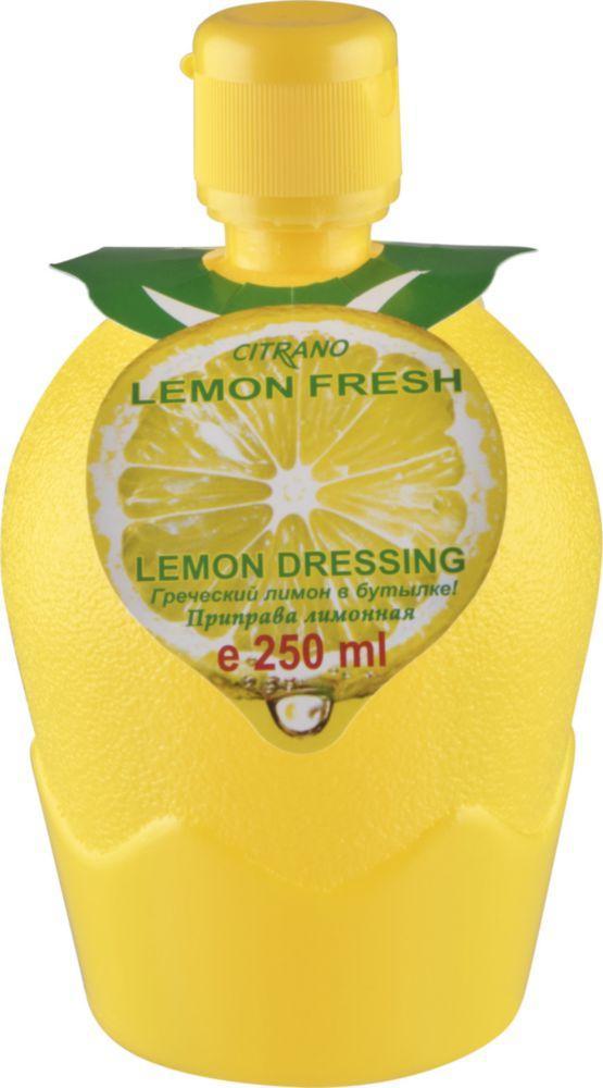 Приправа Citrano Греческий лимон в бутылке Сок концентрированный