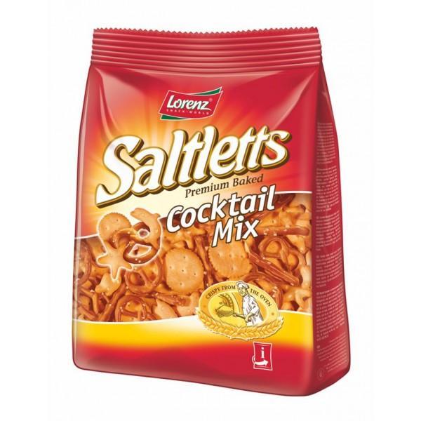 Смесь Lorenz Saltletts Cocktail Mix из печенья и кренделей
