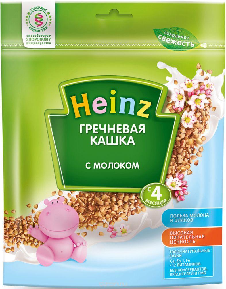 Каша HEINZ Гречневая с молоком 250г