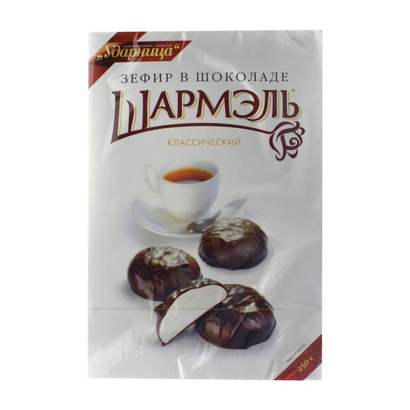 Зефир Шармэль классический в шоколаде