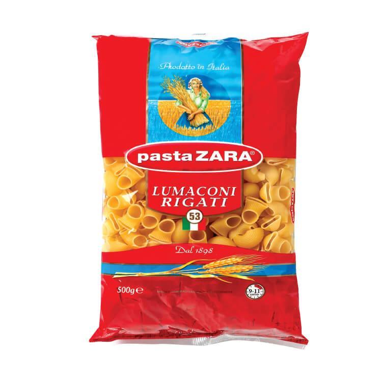Макаронные изделия Pasta Zara Lumaconi Rigati №53