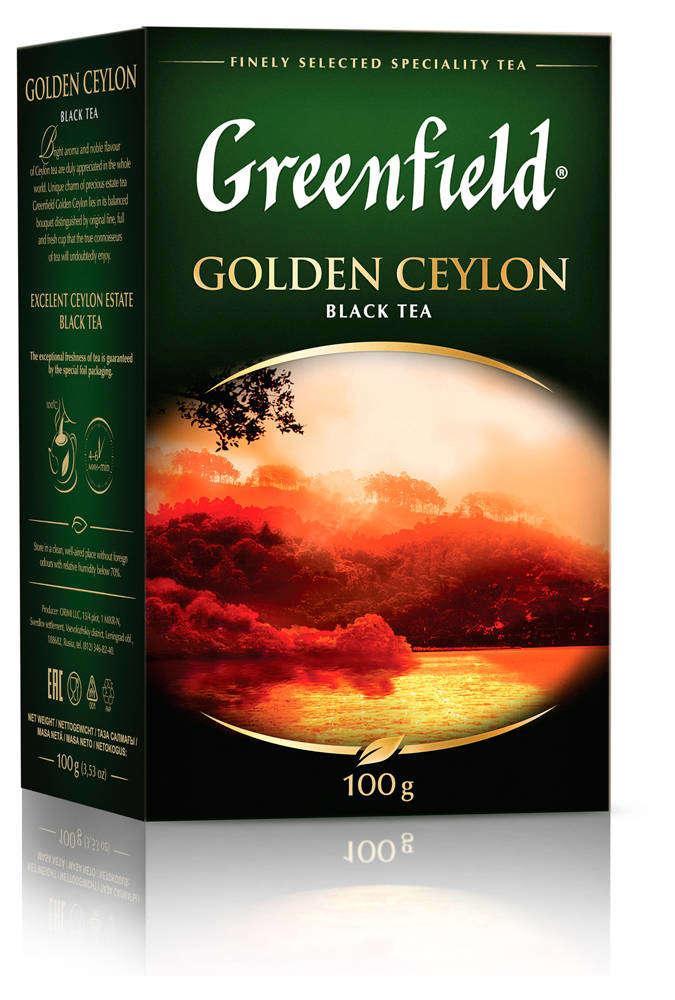 Чай черный Greenfield Golden Ceylon