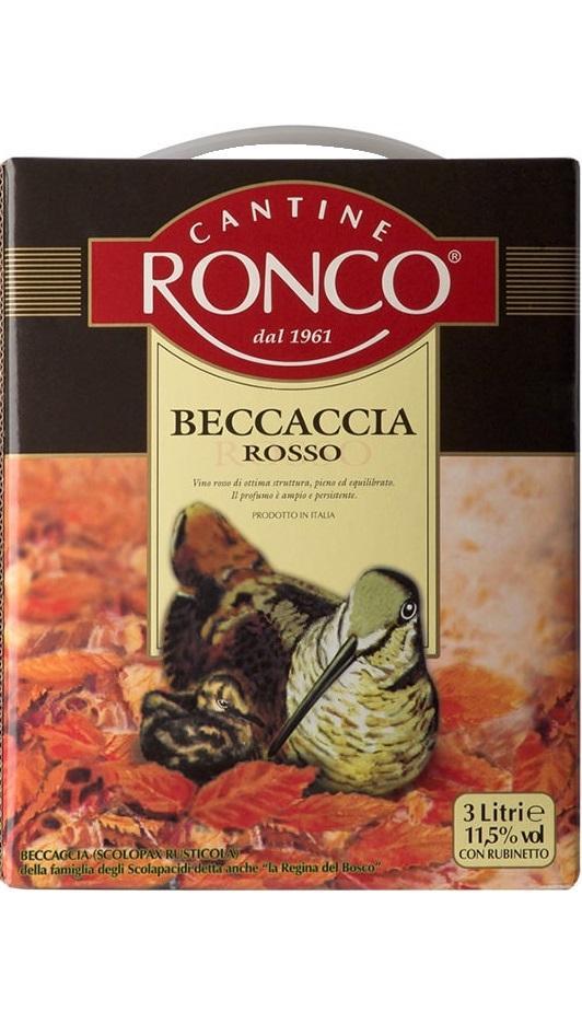 Вино Бекаччиа Россо / Becaccia Rosso,  Мерло, Санджовезе, Монтепульчано,  Красное Сухое, Италия