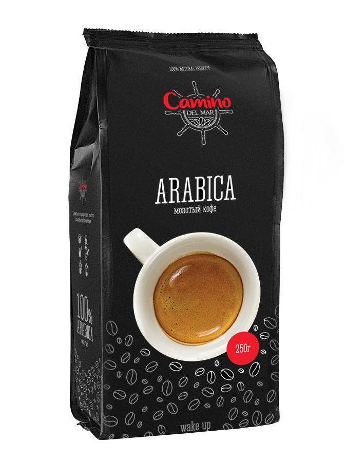 Кофе зерновой Camino del Mar Арабика