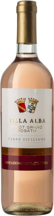 Вино Вилла Альба Пино Гриджио Розато / Villa Alba Pinot Grigio Rosato,  Пино Гриджио,  Розовое Сухое, Италия