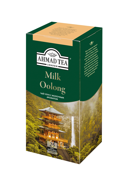 Чай Ahmad Tea Milk Oolong зеленый с молочным ароматом 25 пак.