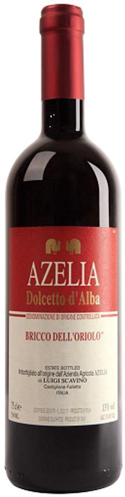 Вино Дольчетто д'Альба Брикко дель' Ориоло Адзелия, Италия