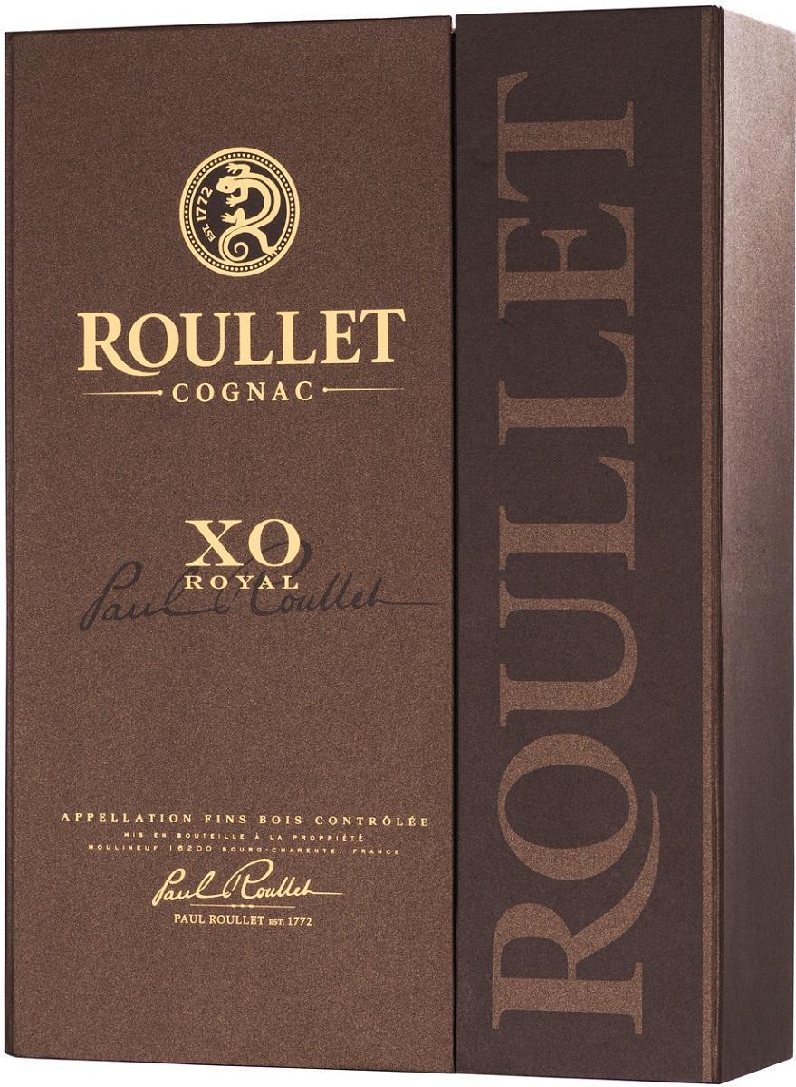Коньяк «Рулле XO Роял Фэн Буа» в подарочной упаковке, Франция
