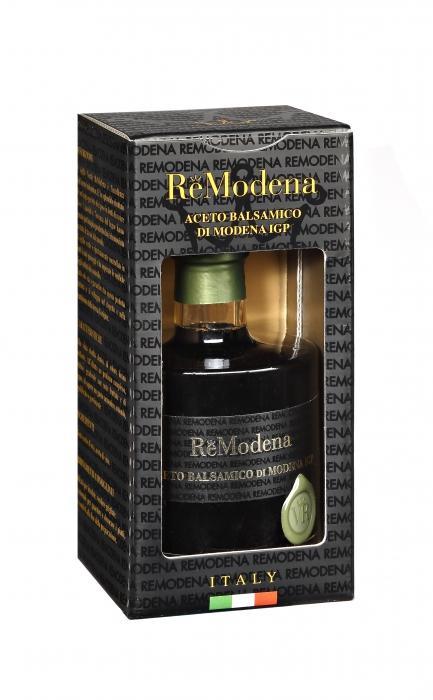 Уксус ReModena Бальзамический зеленая печать