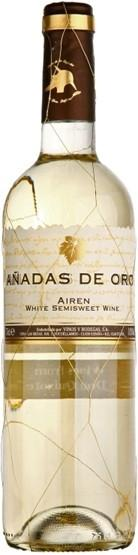 Вино Anadas de Oro Airen Semisweet столовое белое полусладкое 11%