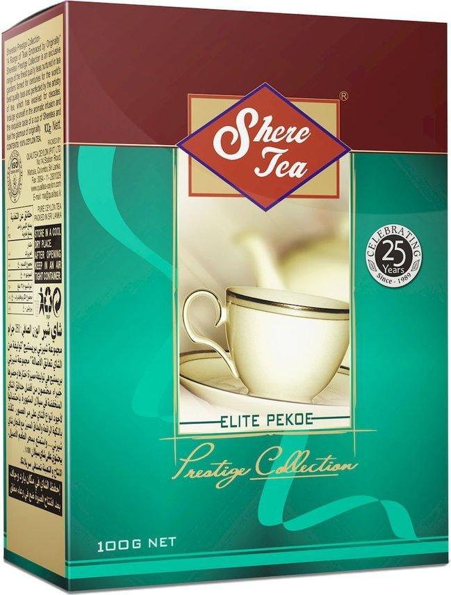 Чай черный Shere tea Prestige Collection Elite PЕКОЕ