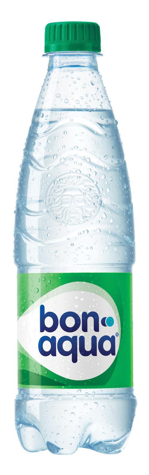 Вода Bon Aqua минеральная среднегазированная